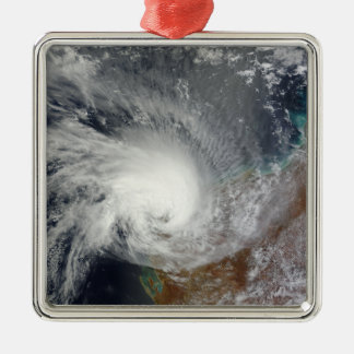 Tropical Cyclone Carlos Metal Ornament