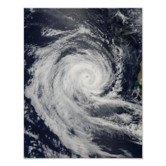 Tropical Cyclone Dianne Poster