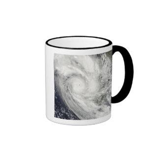 Tropical Cyclone Fanele over Madagascar Coffee Mugs