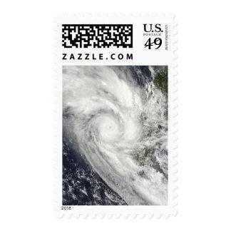 Tropical Cyclone Fanele over Madagascar Postage