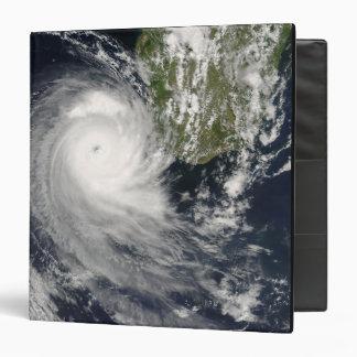 Tropical Cyclone Favio off Madagascar 3 Ring Binder