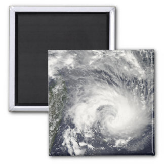 Tropical Cyclone Gael 2 Inch Square Magnet