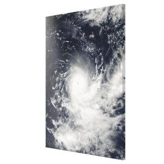Tropical Cyclone Gelane Canvas Print