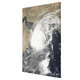 Tropical Cyclone Gonu in the Arabian Sea Canvas Print