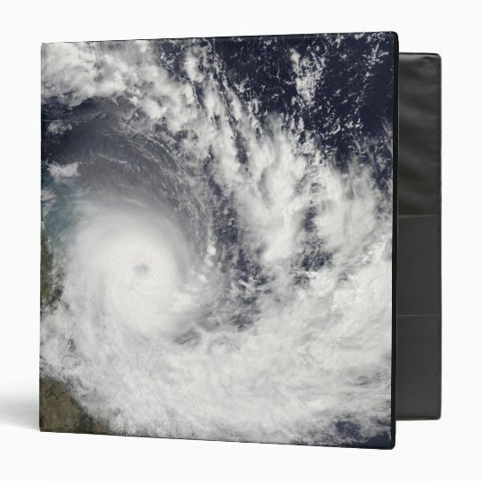 Tropical Cyclone Hamish over Australia 3 Ring Binder