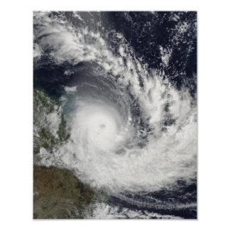 Tropical Cyclone Hamish over Australia Poster