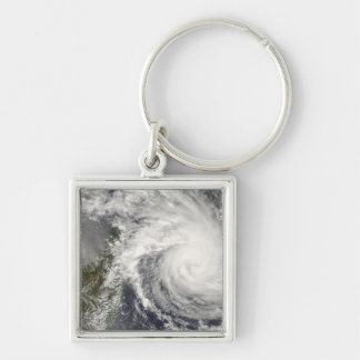 Tropical Cyclone Ivan approaching Madagascar Keychain