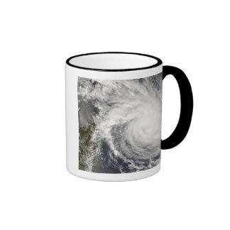 Tropical Cyclone Ivan approaching Madagascar Coffee Mugs