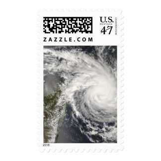 Tropical Cyclone Ivan approaching Madagascar Postage