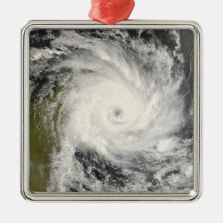 Tropical Cyclone Ivan over Madagascar Metal Ornament