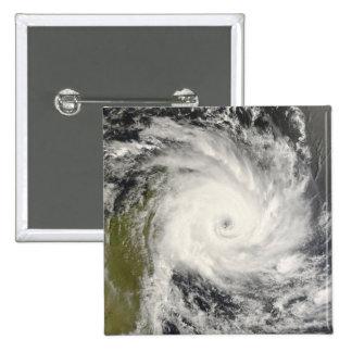 Tropical Cyclone Ivan over Madagascar Pinback Button