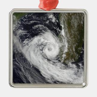 Tropical Cyclone Izilda Metal Ornament