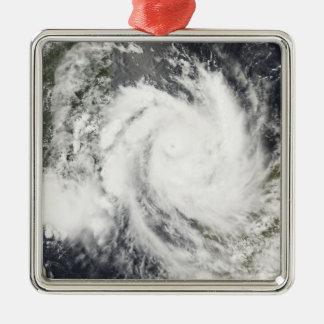Tropical Cyclone Jokwe Metal Ornament
