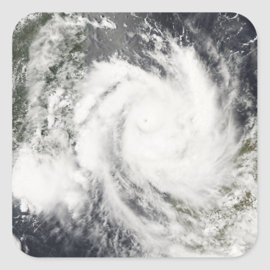 Tropical Cyclone Jokwe Square Sticker