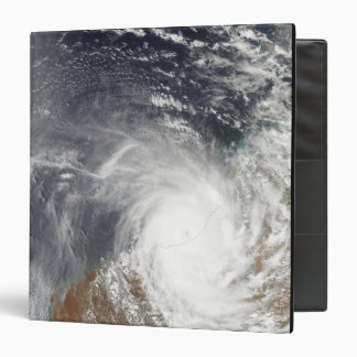 Tropical Cyclone Laurence over Western Australi 3 Ring Binder