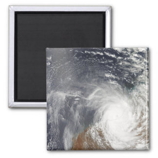 Tropical Cyclone Laurence over Western Australi Fridge Magnet