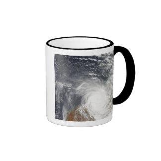 Tropical Cyclone Laurence over Western Australi Coffee Mugs