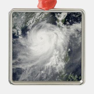 Tropical Cyclone Linfa Metal Ornament