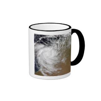 Tropical Cyclone Magda coming ashore in Austral Mug