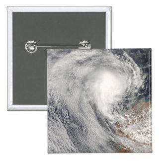 Tropical Cyclone Melanie off Australia 2 Inch Square Button
