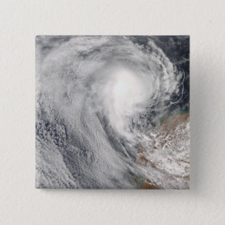 Tropical Cyclone Melanie off Australia Pinback Button