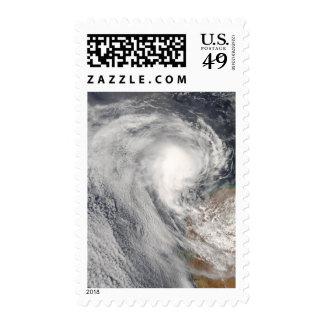 Tropical Cyclone Melanie off Australia Stamp