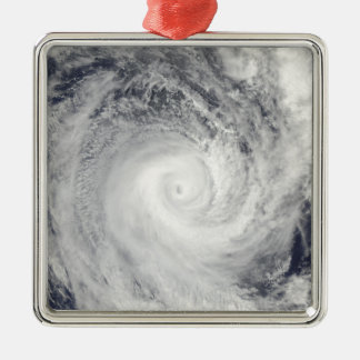 Tropical Cyclone Oli off the coast of Tahiti Metal Ornament