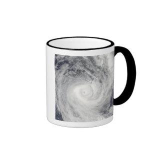 Tropical Cyclone Oli off the coast of Tahiti Coffee Mugs