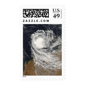 Tropical Cyclone Ophelia off Australia Stamps