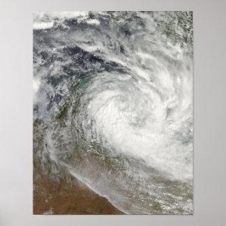 Tropical Cyclone Paul over Australia 2 Poster