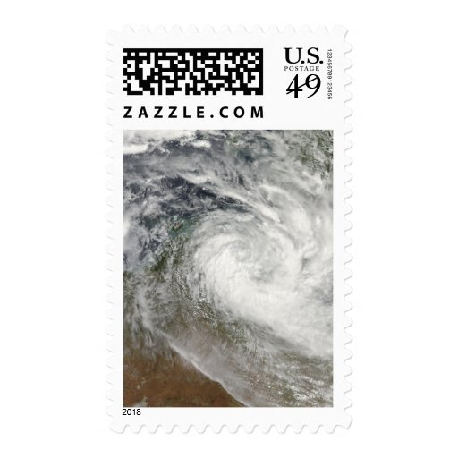 Tropical Cyclone Paul over Australia 2 Stamps