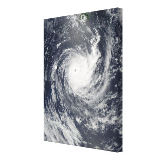 Tropical Cyclone Wilma Canvas Print