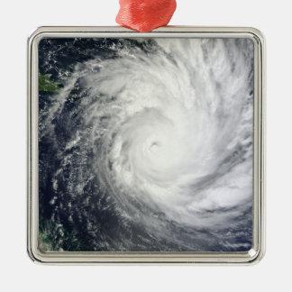 Tropical Cyclone Yasi Metal Ornament