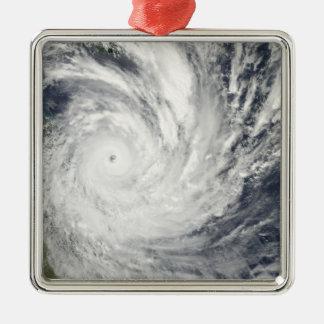 Tropical Cyclone Yasi over Australia Metal Ornament