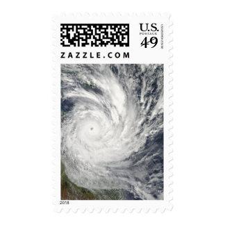 Tropical Cyclone Yasi over Australia Stamps