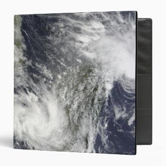 Tropical Cyclones Eric and Fanele Binder