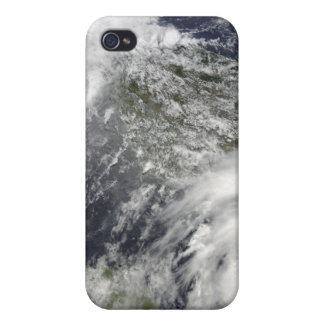 Tropical Cyclones Eric and Fanele iPhone 4 Cover