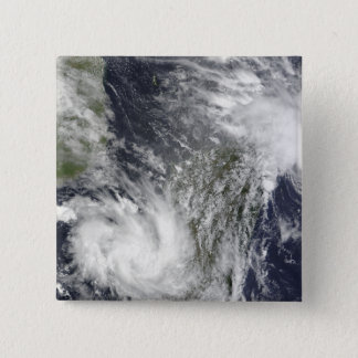 Tropical Cyclones Eric and Fanele Pinback Button