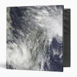 Tropical Cyclones Eric and Fanele Vinyl Binder