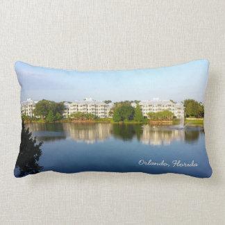 Tropical Cypress Harbour Resort - Orlando Florida Lumbar Pillow