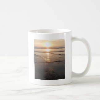 Tropical dark Beach sunset Coffee Mug