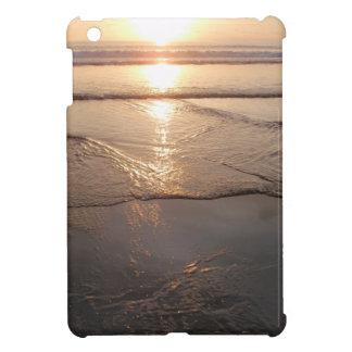Tropical dark Beach sunset iPad Mini Cover