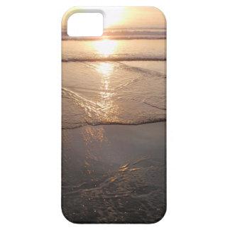 Tropical dark Beach sunset iPhone SE/5/5s Case