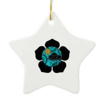 Tropical Daze Ceramic Ornament