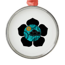 Tropical Daze Metal Ornament