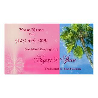 Tropical Design Business Card