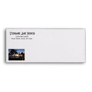 Tropical Destination Business Envelopes