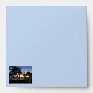 Tropical Destination Envelopes