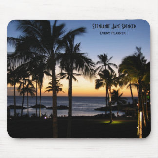 Tropical Destination Personalized Mousepad