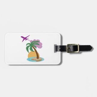 Tropical Destinations Bag Tag